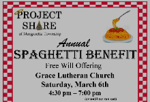 2021 Project Share Spaghetti Benefit