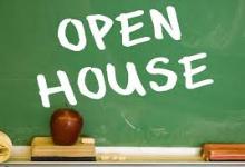 Open House 2019-20 Schedule