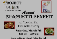 Project Share Spaghetti Benefit
